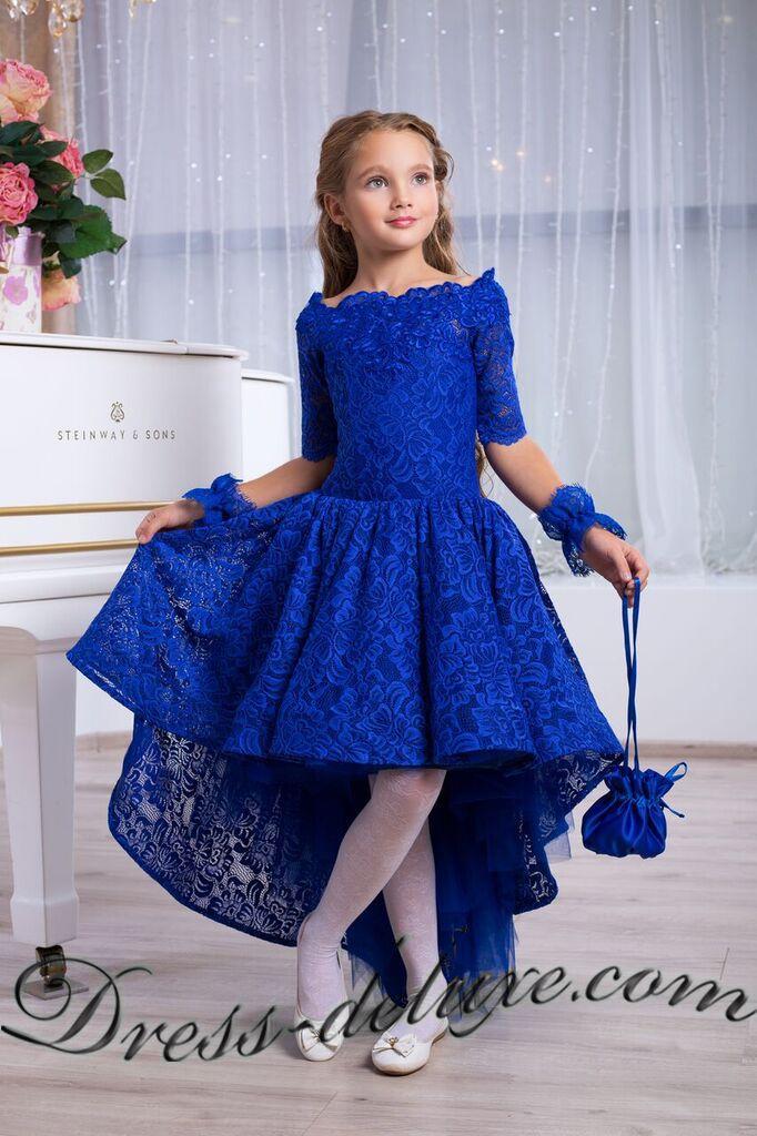 bf41aad54d567e3 Платье Сакраменто. Цвет синий. - Детские нарядные платья | Детские ...