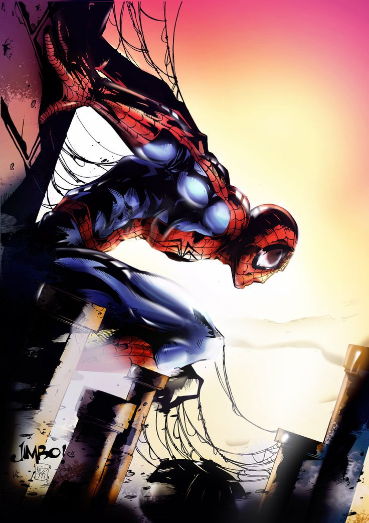 Spiderman by ~smallesthing on deviantART