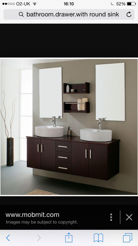 Round sink8 best Round Bathroom sinks images on Pinterest   Bathroom sinks  . Round Bathroom Cabinet Uk. Home Design Ideas
