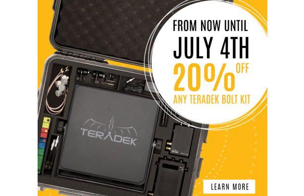 TERADEK SALE! Get a 20% Off Special Deal on Popular Bolt Models - http://blog.planet5d.com/2017/06/teradek-sale-get-a-20-off-special-deal-on-popular-bolt-models/