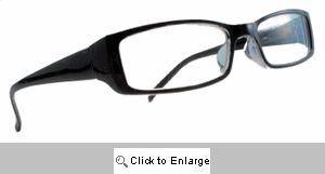 Katherine Clear Lens Glasses - 125A Black