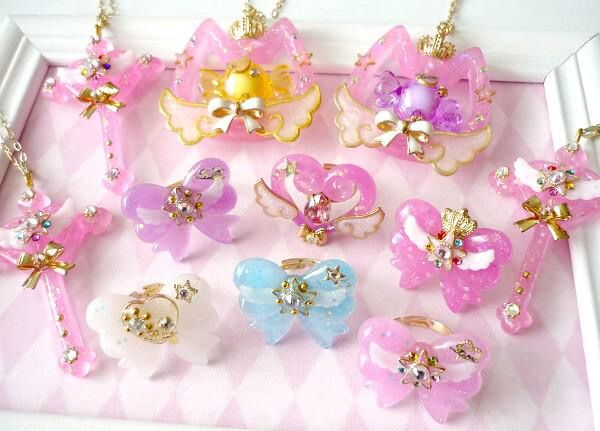 Yume Kawaii jewelry- pastel bows