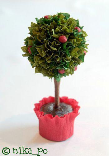 Дерево из леденцов