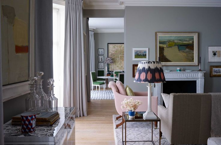 A London Pied-a-terre - Ben Pentreath Ltd