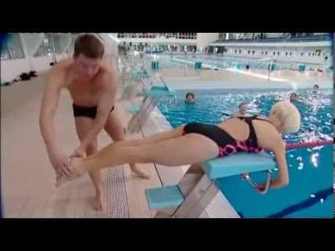 Todellinen puuma Helena Ahti-Hallberg uimapuvussa- Elixir