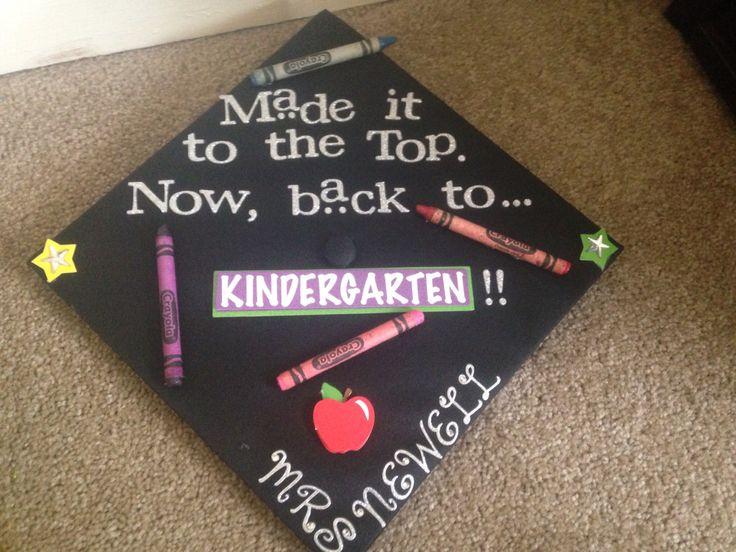 Graduation cap for future teacher
