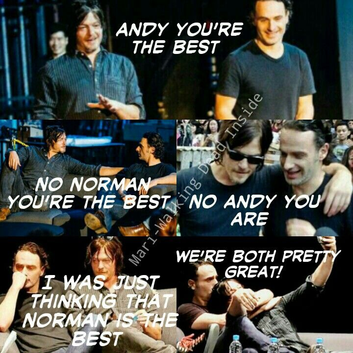daryl and rick relationship trust