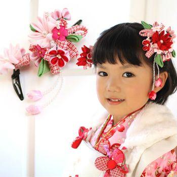キッズ・ベビー・マタニティレディースファッション女性和服和装小物髪飾り