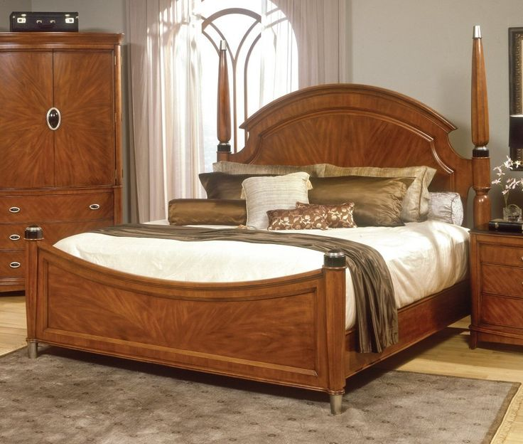Like the feel and look of wooden items in the bedroom!  Home
