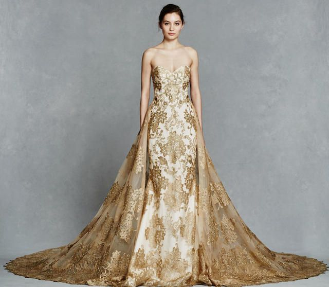 Best 25+ Gold wedding dresses ideas on Pinterest | Gold wedding ...