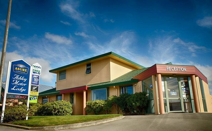 Ashley Motor Lodge #Timaru - Reception