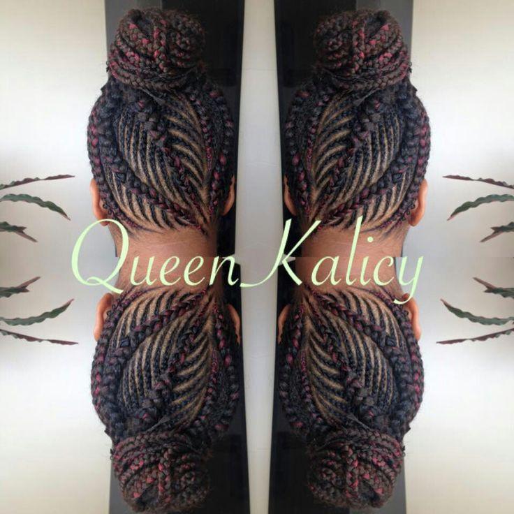 Crochet Braids Queen Kalicy : ... Cornrow Braid Styles on Pinterest Cornrow, Braid Styles and Braids