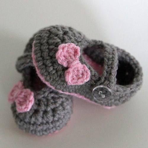 Zapatos De Bebe Tejidos, Tejido Para Bebe, Zapatos Tejidos Para Bebe, Tejidos Moda, Tejidos Crochet Bebe Paso A Paso, Zapatitos Tejidos Para Bebe Paso A