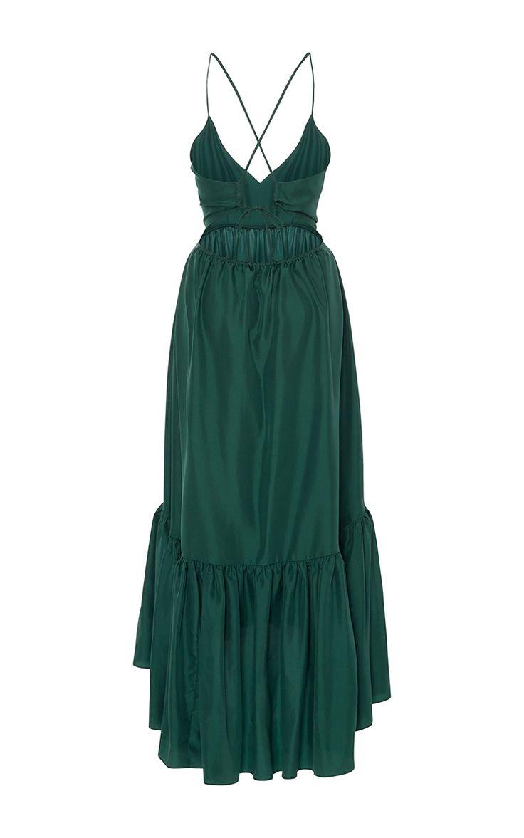 Greer Ruffle Dress by Whit   Moda Operandi