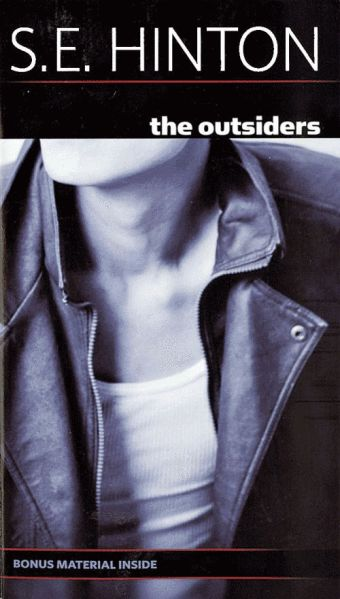 READ IT!!  The Outsiders by S.E. Hinton-- never read the book, never saw the movie.  Ian would like me to read it before we watch it.