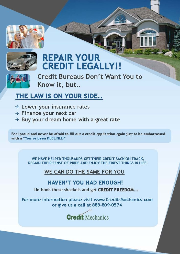 Credit Repair Flyers Credit Repair Secrets Exposed! (With