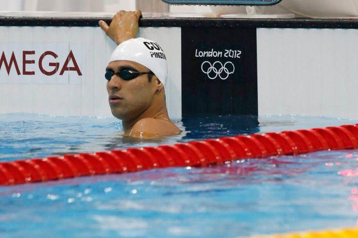 Omar Pinzón, eliminado de los 200 metros mariposa.