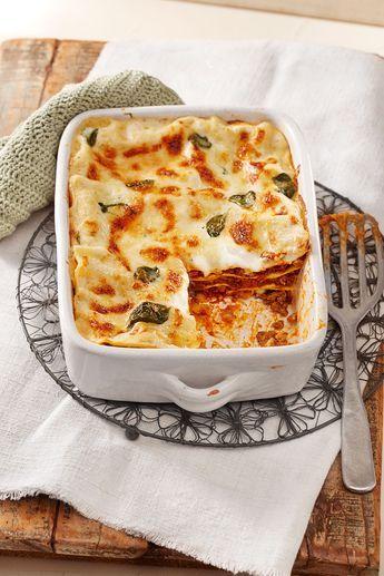 Bechamel - Hackfleisch - Lasagne