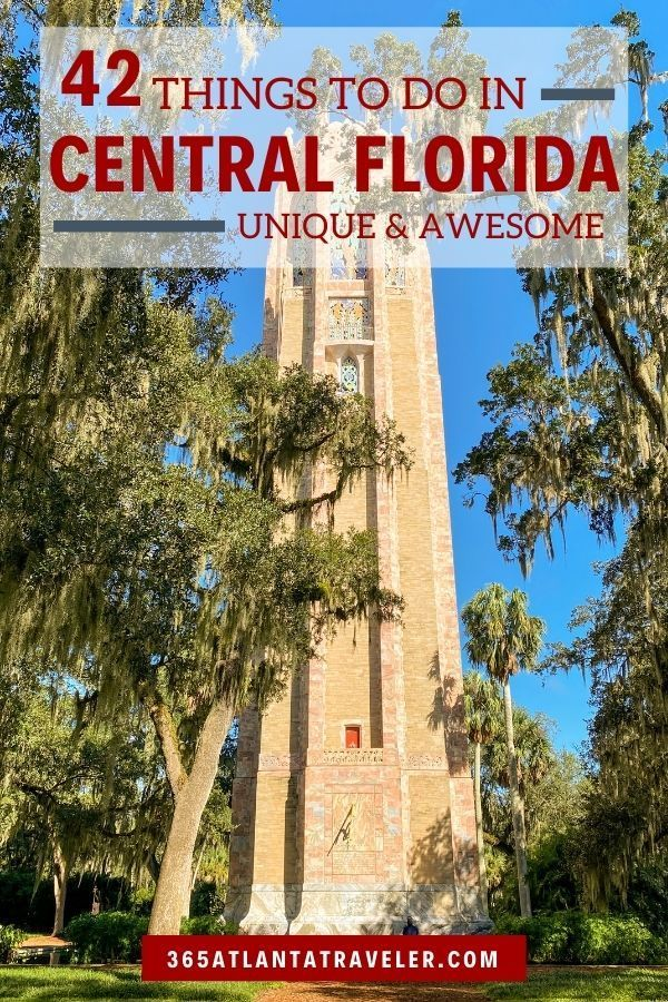 42 Unique Awesome Things To Do In Central Florida Beyond Disney Central Florida Florida Vacation Things To Do