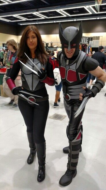ECCC 2015 X-23 and Wolverine Cosplay   Comic Con ... X 23 Costume