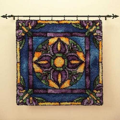 16 Best Stained Glass Rugs Images On Pinterest