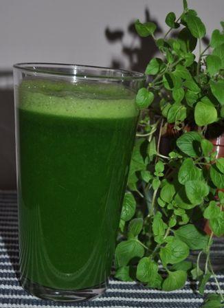 THERMOMIX : Napój z zielonej pietruszki