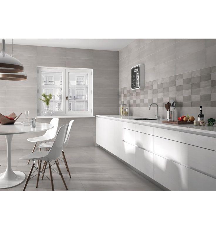 Kökskakel - Mosaik - Kakelmonster | Tesel Syland Grå 25x40