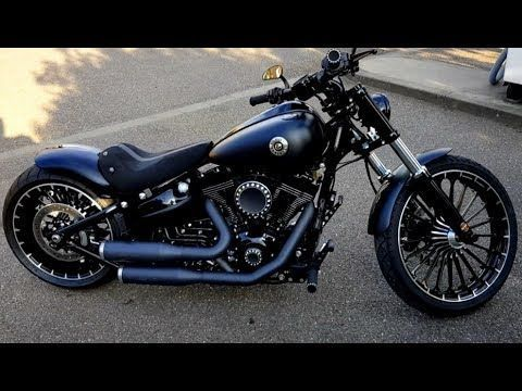 Harley-Davidson FXSB Custom Breakout - YouTube