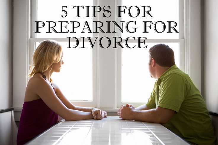 Preparing for a divorce is no easy task, but these tips should help.