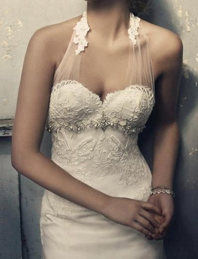Something different, top of dress is beautiful
