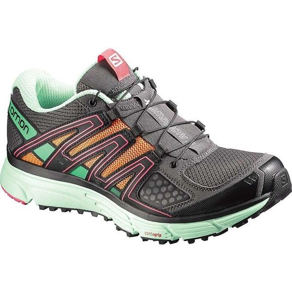 Salomon Women's X-Mission 3 Shoe ($97) ❤ liked on Polyvore featuring shoes, asymmetric shoes, salomon, breathable shoes, salomon shoes and salomon footwear