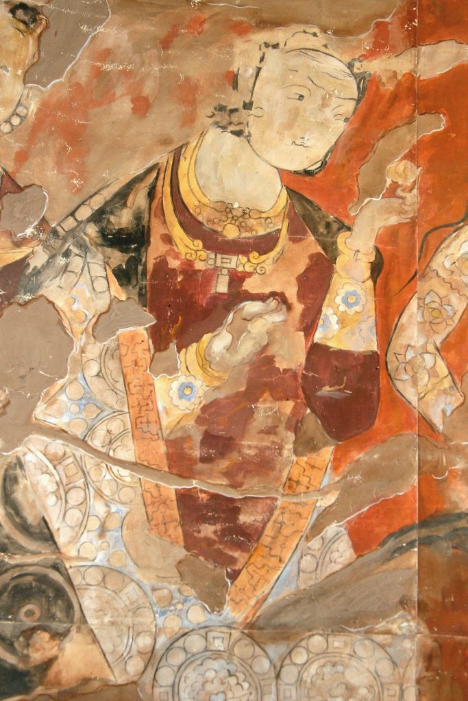 Sogdian mural from Panjakent, 6th-8th Centuries
