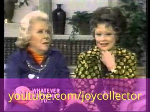 Lucille Ball & Vivian Vance interview in 1975