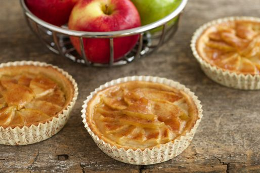 Apple Tartlets Recipe - Take these simple, yet delicious Apple Tartlets to the next level in our Ruffled Baking Cups.
