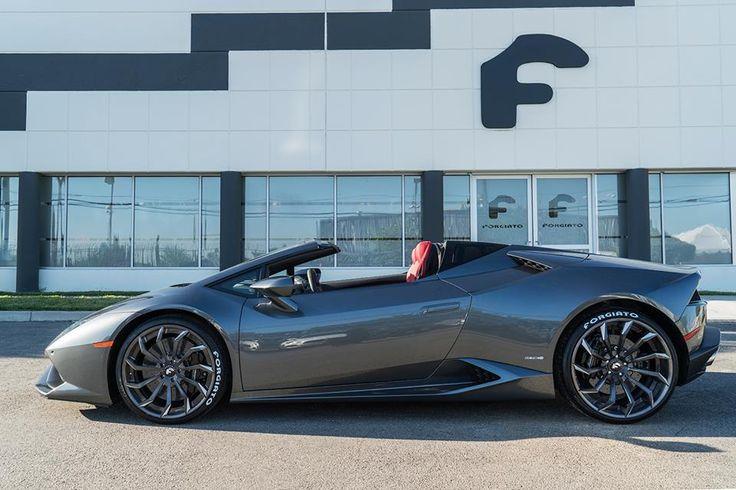 Lamborghini Huracan Spyder by Forgiato Wheels - Motorward                                                                                                                                                                                 More