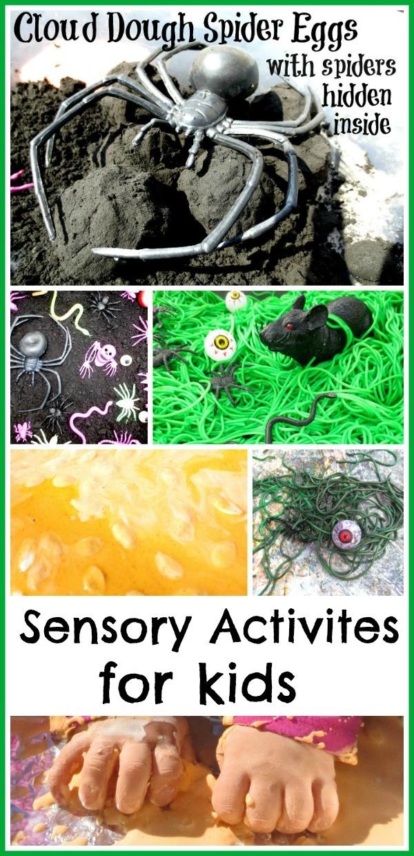 Sensory activities for kids!