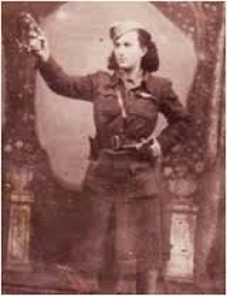 Η θρυλική Εβραία καπετάνισσα Σαρίκα Γ. του ΕΛΑΣ της Εύβοιας