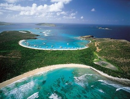 The water really is this color!  Come visit Culebra, Puerto Rico.  You will have an amazing experience!  I did and I am going back to live!