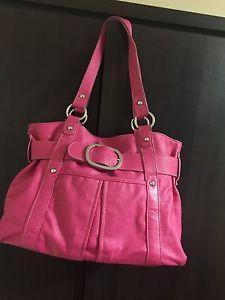 Debenhams Collection Ladies Handbag Fushia Pink  | eBay