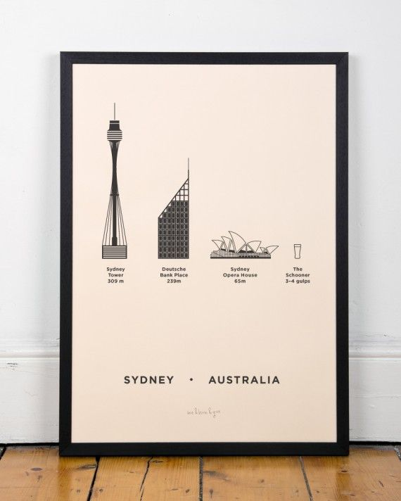 Sydney Screenprint - me&him&you