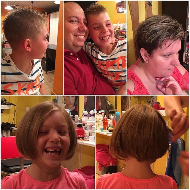 "Top 100 ""brown hair with blonde highlights blonde highlights on brown hair "" photos The last haircut😊💇 #ilovemyhusband #ilovemykids #brownhairwithblondehighlights #brownhair #newhaircut"