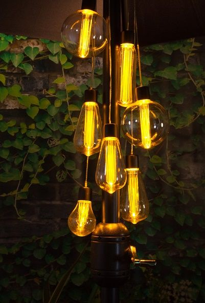 26 best noma garden art solar battery garden lighting images on these warm white edison vintage style parasol cluster lights will add stylish illumination to any garden battery operated discover them at hurn and hurn aloadofball Choice Image