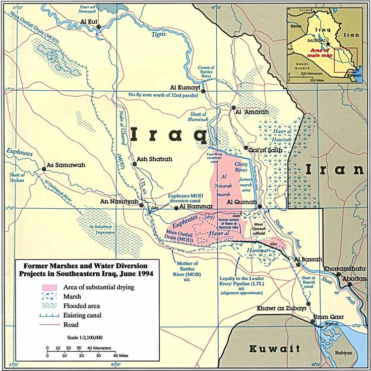 27 maps that explain the crisis in iraq