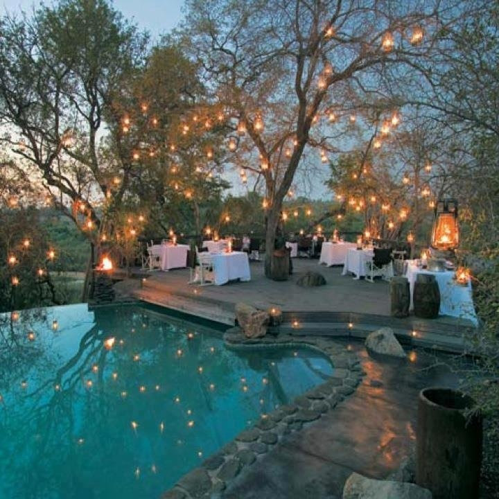 If I were having an outdoor wedding... This would be it.