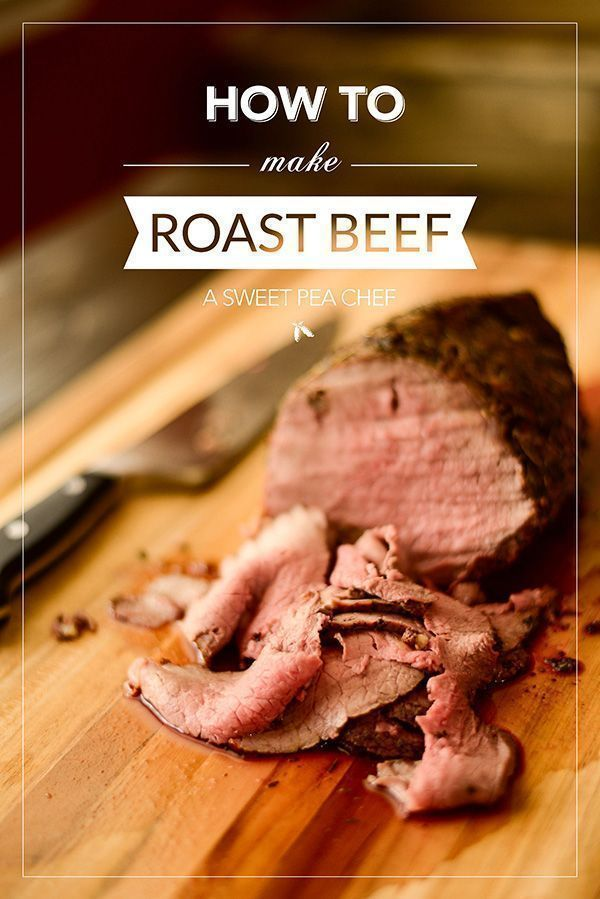How To Cook Roast Beef  *****simple and good!  Used rump roast, very similar to cafeteria style roast beef.  Leftovers would make great French Dip sandwich!