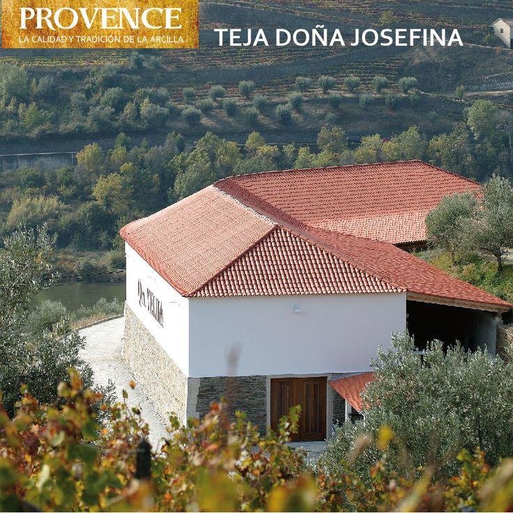 Teja de Arcilla Doña Josefina - PROVENCE - Tejas de Chena