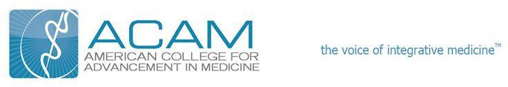 American College for Advancement in Medicine (ACAM) list of area doctors practicing integrative medicine