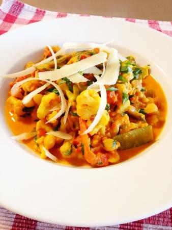 My own meals: Thaise curry met bloemkool en rijst