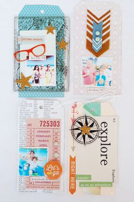 Bits and Pieces... tag book