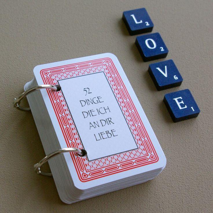 52 Dinge die ich an dir liebe Karten Kartenspiel Valentinstag Geschenk selber basteln DIY Tutorial Anleitung kostenlos fertig 4